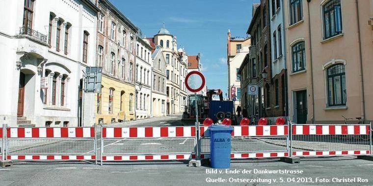Webfund Wismar Dankwartstrasse - Am Schilde 11 hinten rechts - Ostseezeitung - Foto Christel Ros